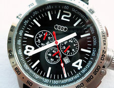 Audi Sport Racing Collection Aviator Design Made in Germany Watch Chronograph