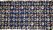 New AMERICANA blue valance FARM animals ROOSTER cat COW