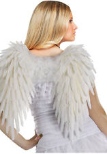 Feathered White Wings Angel Devil Sexy Adult Halloween Costume Accessory 17""