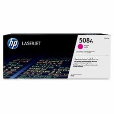 HP 508A CF363A Toner Cartridge - Magenta Yields 5000 Pages For M552DN M553DN