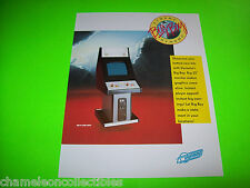 1989 DYNAMO BIG BOY SHOWCASE CABINET ORIGINAL NOS VIDEO ARCADE GAME SALES FLYER