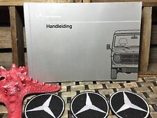 MERCEDES 240GD 300GD 240 300 GD OWNERS MANUAL DUTCH NETHERLANDS Handleiding 1989