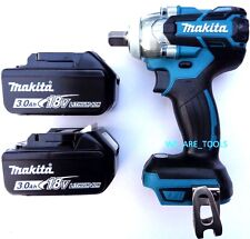 Makita XWT02 18V ½ 3-Speed Brushless Impact Wrench, (2) BL1830 Batteries 18 Volt