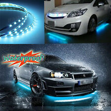4x Ice Blue 8k LED Strip Under Car Underglow Underbody Neon Light Kit For Mazda