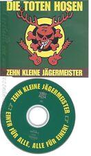 CD--DIE TOTEN HOSEN -- --- ZEHN KLEINE JAEGERMEISTER