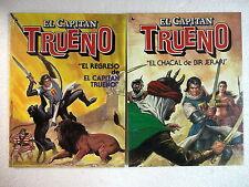 El Capitan Trueno de Jesus Blasco,Coleccion Completa 2 Tomos,Bruguera 1986