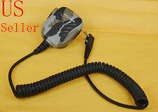 2 Pin WaterProof Speaker Microphone MIC for TK2100 TK3100 Baofeng BF-UV5R Series
