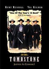 TOMBSTONE Kurt Russell Val Kilmer DVD NEW