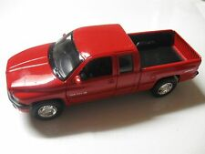 1:24 SCALE WELLY DODGE RAM QUAD CAB 1500 SPORT 2002 DIECAST TRUCK W/O BOX
