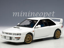 AUTOart 78605 SUBARU IMPREZA 22B STi UPGRADED VERSION 1/18 DIECAST MODEL WHITE