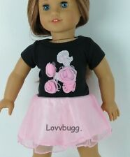 """Poodle Dress for 18"""" American Girl Doll Clothes Lovvbugg Widest Selection!"""