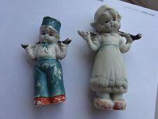 Vintage Dutch Children Bisque Frozen Charlotte- Made in Japan