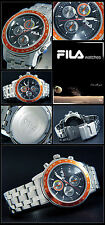 MEN'S -CHRONOGRAPH FILA WATCH BESONEREN DESIGN TACHYMETER GOOD READABLE NEW
