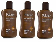 Polytar Scalp Coal Tar Shampoo  150ml ( 3 bottles )