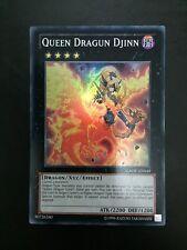 Yugioh Queen Dragun Djinn buenas condiciones UNL Super Gaov-EN049
