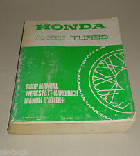 Officina Manuale/Workshop Manual Honda CX 500 TURBO TIPO pc03 STAND 1981