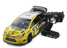 Kyosho 30880B DRX VE 2.4 Ghz Demon Readyset RC Rally Car 1/9 Scale W/ KT-200