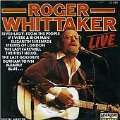 ROGER WHITTAKER LIVE Durham Town Streets Of London && 22 Tracks CD