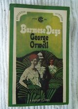 Burmese Days by George Orwell 1963 1st Signet Printing CP194 Soft Cover