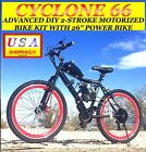 BICYCLE ENGINE 66cc/80cc 2-STROKE COMPLETE DIY MOTORIZED BICYCLE KIT WITH BIKE!