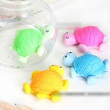 OLDCartoon Turtle Animal Drawing Writing Cleaner Rubber Wiper Eraser 1x