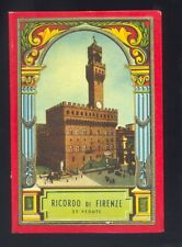 Album Ricordo di Firenze 32 vedute foto cartoline