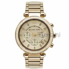 Michael Kors Original MK5354 Women's Parker Gold Crystal Stainless Steel Watch