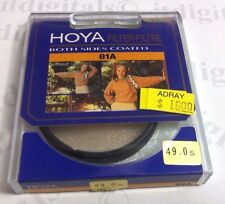 Hoya 49mm 81A 81-A Lens Filter B&W Color Film Digital Warm Up 49 mm Japan 81 A