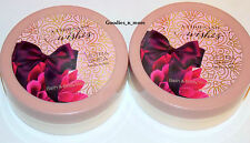 2 New Bath & Body Works A THOUSAND WISHES Ultra Shea body butters RARE