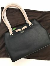 Kate Spade NY Black Pebble Leather Henderson Street Small Maryanne Tote PXRU7029