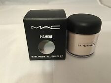 MAC *WHITE GOLD* Pigment EyeShadow EyeShadow .26oz/7.5g BNIB