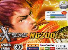 ASUS EN6200GE/TD/128M/A GEFORCE 6200 128MB DDR PCIE-X16 VIDEO CARD - REFURB