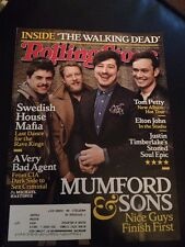 MUMFORD & SONS March 28, 2013 Rolling Stone JUSTIN TIMBERLAKE  TOM PETTY