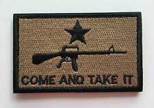 Come and Take It Tactical Morale 3.0 inch   PATCH    Sh  441