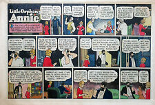 Little Orphan Annie by Gray - large half-page color Sunday comic, April 23, 1944