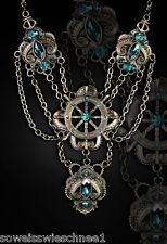 Restyle Steampunk Kraken Halskette Rockabilly Choker Gothic Collier Necklace WGT