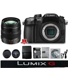 NEW Panasonic Lumix DMC-GH4 Camera Body w/  Lumix G X Vario 12-35mm f/2.8Lens