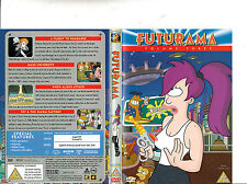 Futurama:Vol 3-1999/2013-TV Series USA-4 Episodes-DVD