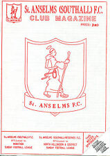 25/01/1993 St Anselms Southall v Acton Cricket Club  (Excellent Condition)
