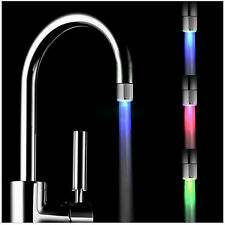 Neu LED Licht Wasserhahn 7 Color Color Changing Mode