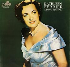 ACL 309 KATHLEEN FERRIER a song recital uk decca ace of clubs 1968 LP PS EX/EX