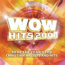 2 CD WOW HITS 2008 Chris Tomlin Jeremy Camp BarlowGirl Natalie Grant Selah   NEU