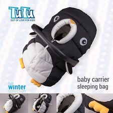Pinguin shaped BABY HOOD SLEEPING BAG FOOTMUFF 4 Car Seat Carrier UNIQUE DESIGN