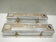 M/T MICKEY THOMPSON SBC CHEVY CHEVROLET 327 350 ALUMINUM VALVE COVERS 3276000