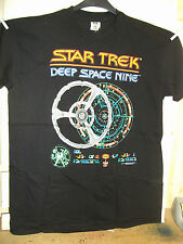 Vintage T-Shirt: Star Trek DS9 Space Station (schematic)) (XL) (USA, 1995)