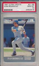 Ivan Rodriguez 1991 Fleer Ultra #U-58 Rookie Card rC PSA 10 Gem Mint QUANTITY