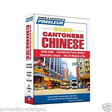NEW 5 CD Pimsleur Learn Speak Basic Cantonese Chinese Language