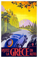 258 Vintage Travel Poster Art  Greece *FREE POSTERS