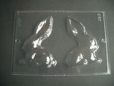 2 ON 1 LONG EARED BUNNY RABBIT MOULD/MOULDS/3-D/13cm HIGH/UNUSUAL DESIGN/KIDS