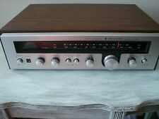 Vintage Kenwood KR-1400 Stereo Receiver w/ Walnut Cabinet  Manual Mint Condition